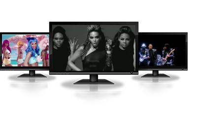 videos musicales, contenidos audiovisuales